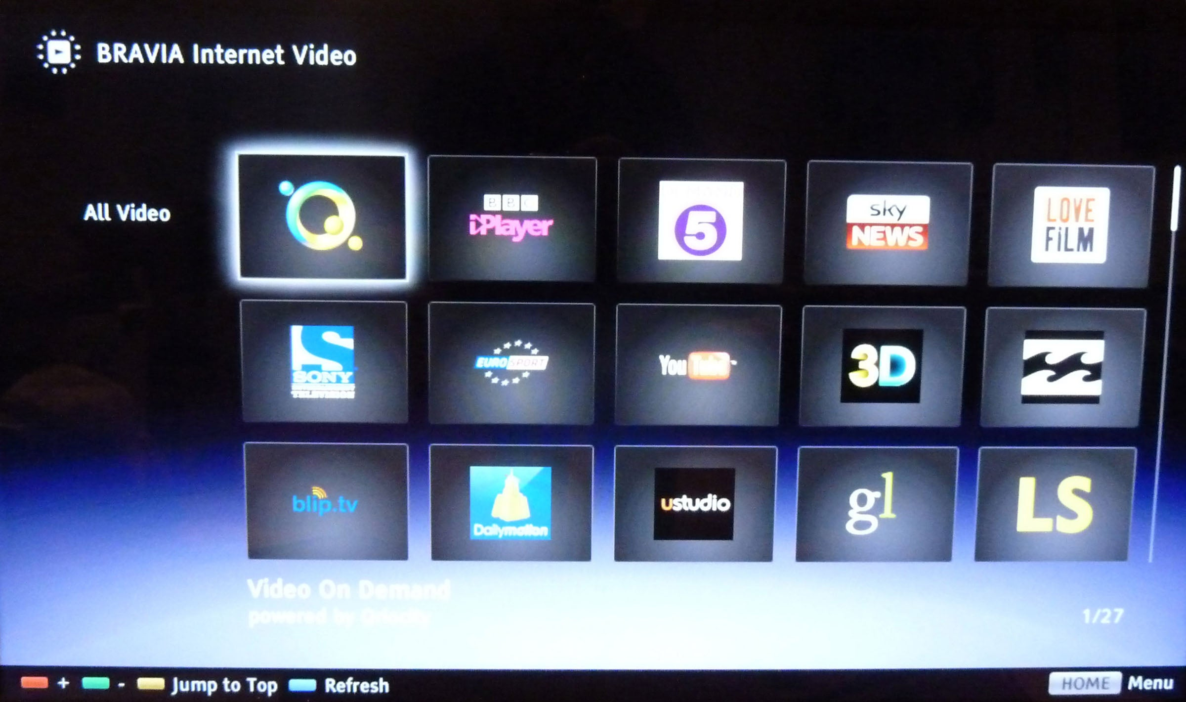 Sony Bravia Internet Video Smart Tv Platform Review