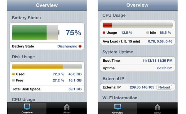 System Status iPhone App Review | Trusted Reviews