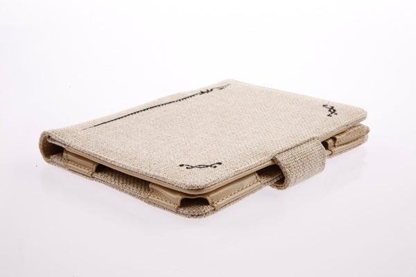 Tuff-Luv Natural Hemp Kindle 4 Case Desert Sand 10
