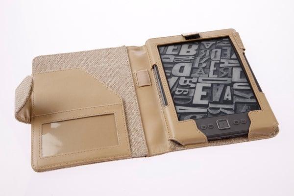 Tuff-Luv Natural Hemp Kindle 4 Case Desert Sand 2