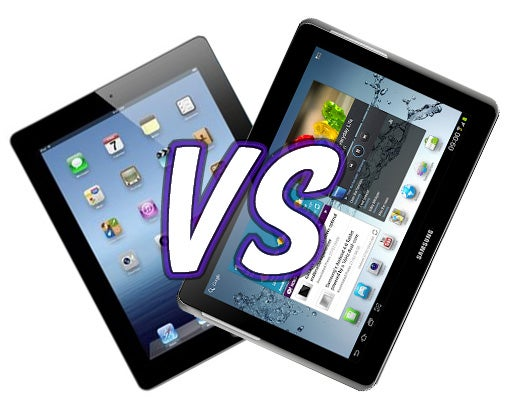 New Ipad Vs Samsung Galaxy Tab 2 10 1 Trusted Reviews