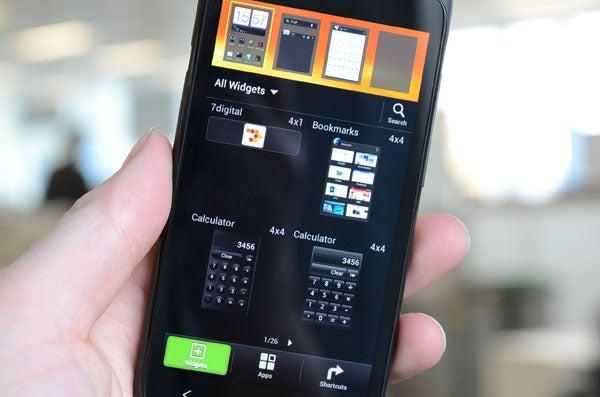 HTC One S Widgets