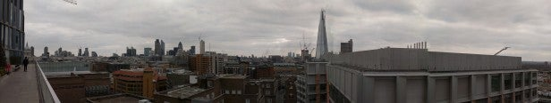 HTC One S Camera - Outdoor Skyline Panorama