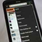 HTC One X - Web Browser Tabs