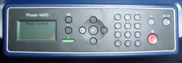 Xerox Phaser 4600V/DN - Controls