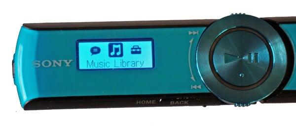 Sony NWZ-B173 screen