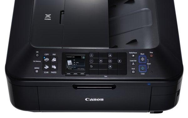 Canon PIXMA MX715 - Controls (Copy)