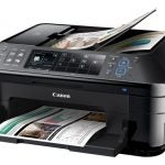 Canon PIXMA MX715 - Open