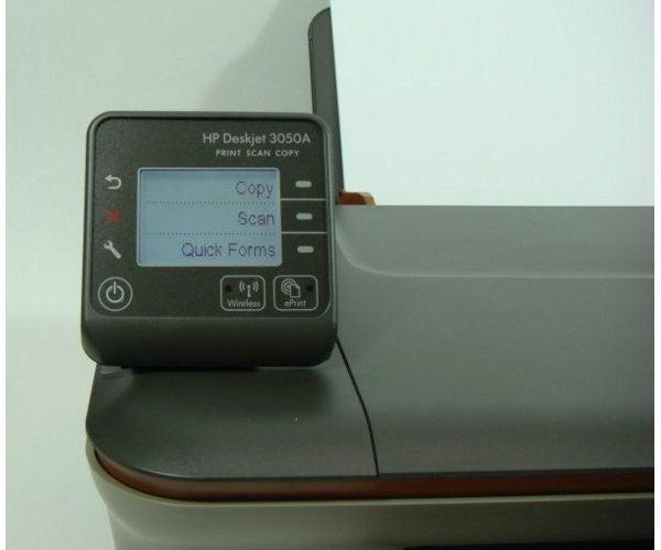 HP Deskjet 3050A - Controls