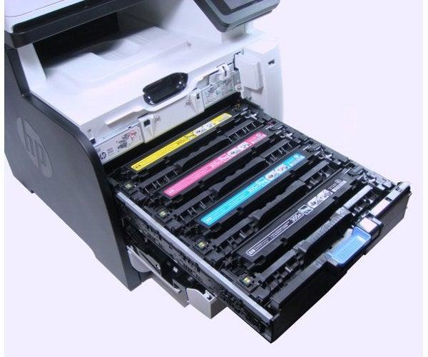 HP LaserJet Pro 300 Color MFP M375nw - Cartridges