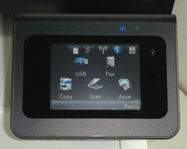 HP LaserJet Pro 300 Color MFP M375nw - Controls