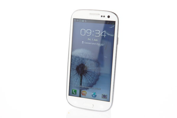 Samsung Galaxy S3 white front