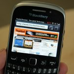 BlackBerry Curve 9320 Screen and Web Browser