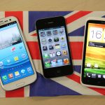 Samsung Galaxy S3 iPhone 4s HTC One X Union Jack