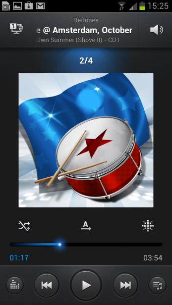 Samsung Galaxy S3 - Music Player