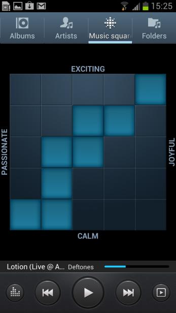 Samsung Galaxy S3 - Music Square