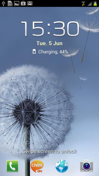 Samsung Galaxy S3 - Lock Screen