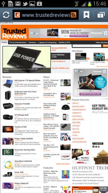Samsung Galaxy S3 - Web Browser