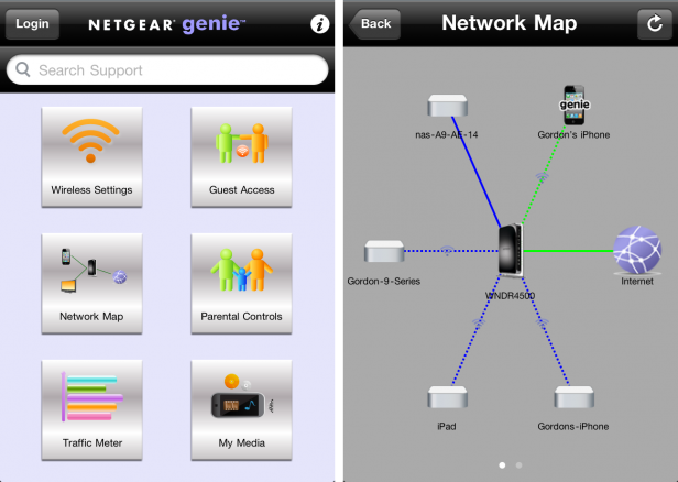 Netgear N900 WNDR4500 Dual Gigabit Wireless Router app