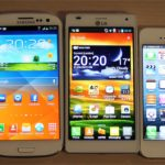 iPhone 5 vs Galaxy Note vs Galaxy S3 vs LG 4X HD vs iPhone 4S