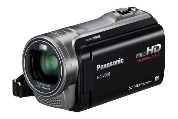 Panasonic hc-v500 1080p hd camcorder unboxing & video test youtube.