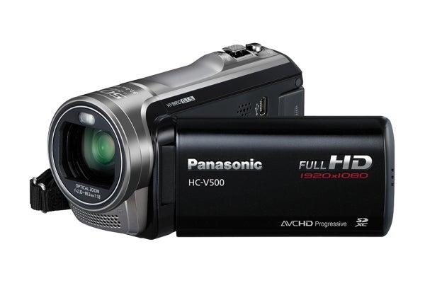 Panasonic hc v500 youtube.