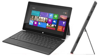 Microsoft Surface Tablet For Windows 8 Promo