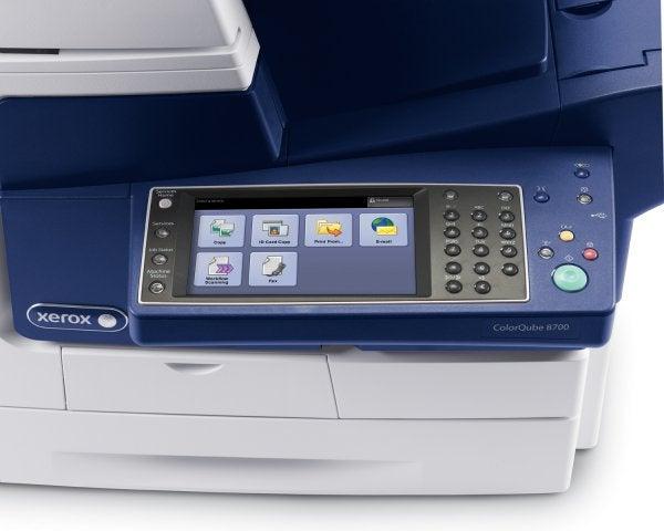 Xerox ColorQube 8700 - Controls