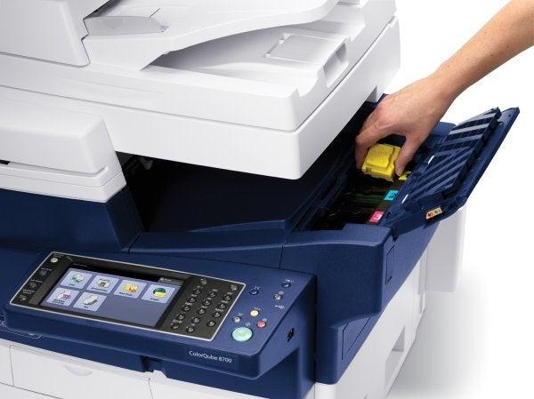 Xerox ColorQube 8700 - Loading Ink