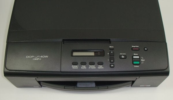 Brother DCP-J140W - Controls
