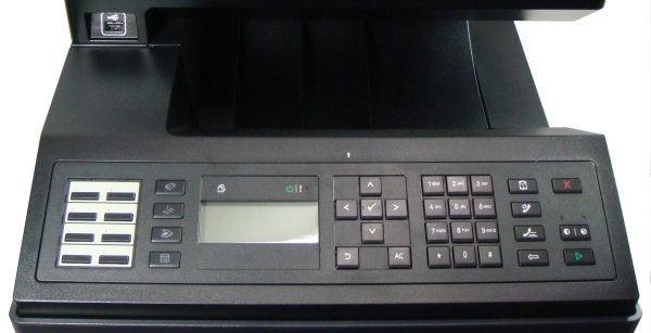 Dell 2155cdn - Controls and USB