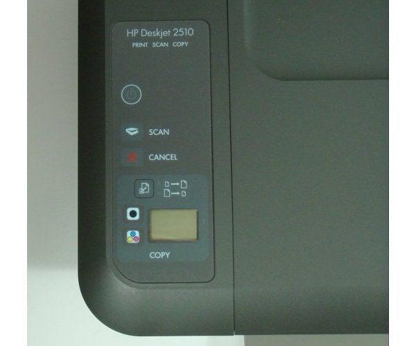 HP Deskjet 2510 - Controls