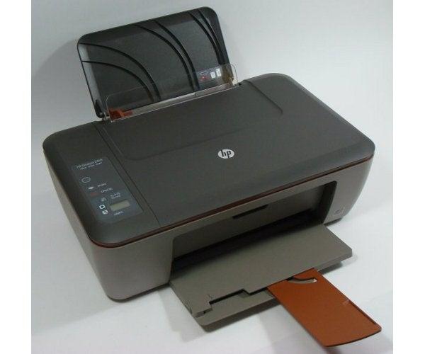 HP Deskjet 2510 - Open
