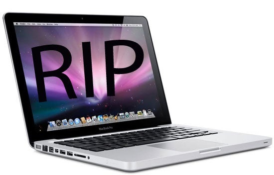 RIP MacBook Pro 17 inch