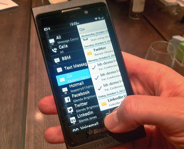 BlackBerry 10 Review | Trusted Reviews