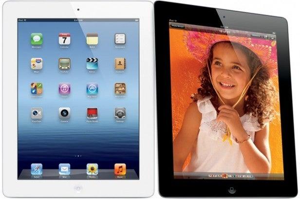 iPad colours