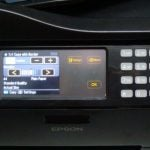 Epson Workforce Pro WP-4545DTWF - Controls