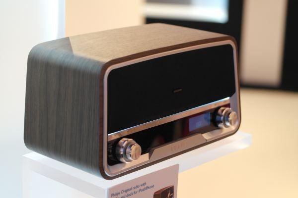 Phlips Original Radio and iPod dock