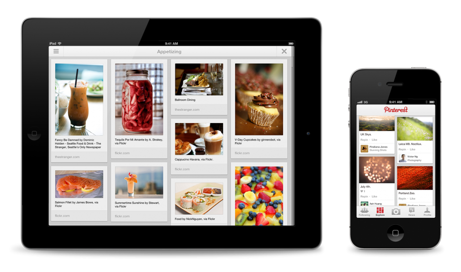 Pinterest app comes to ipad iphone android trusted reviews - Pinterest mobel ...