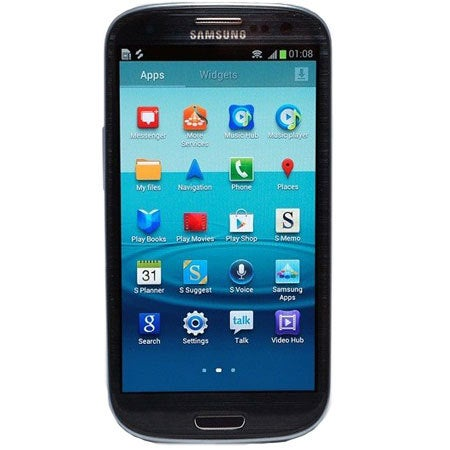 Black Samsung Galaxy S3