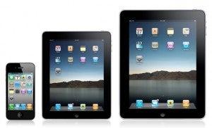 iPad iPhone 5