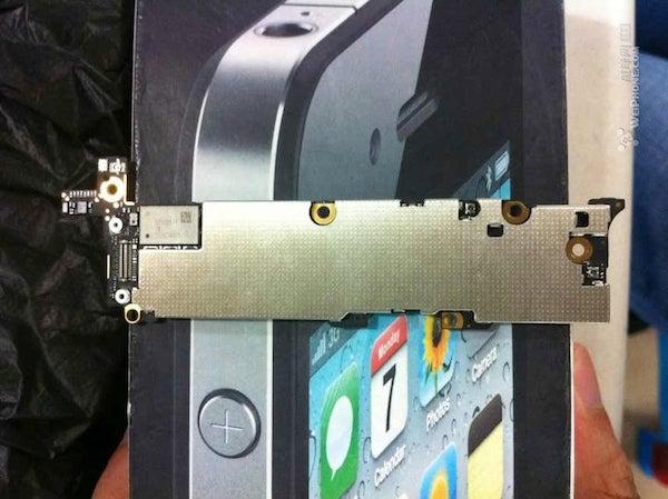 iPhone 5 MB back