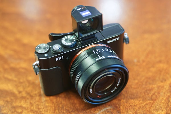 Sony Cyber-shot RX1 hands-on Review   Trusted Reviews