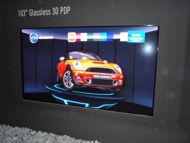 Panasonic 103in Glasses-free display