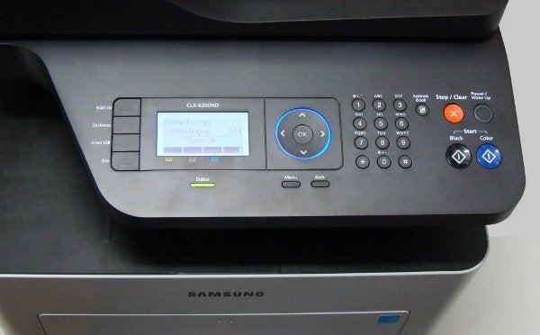 Samsung CLX-6260ND - Controls