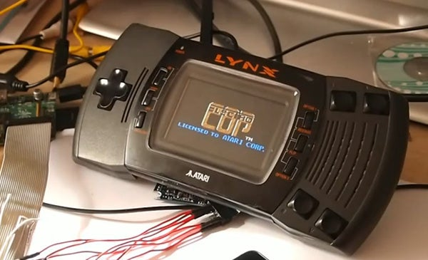 Raspberry Pi turned into an Atari Lynx | Trusted Reviews