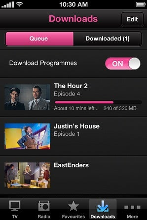 download bbc iplayer shows to ipad
