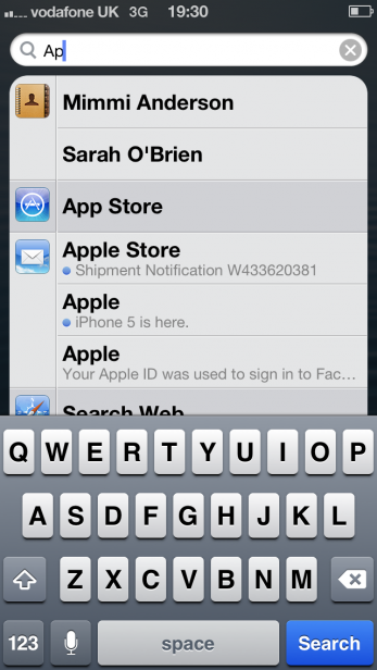 iPhone 5 – iOS 6 Interface and Usability Review | Trusted Reviews