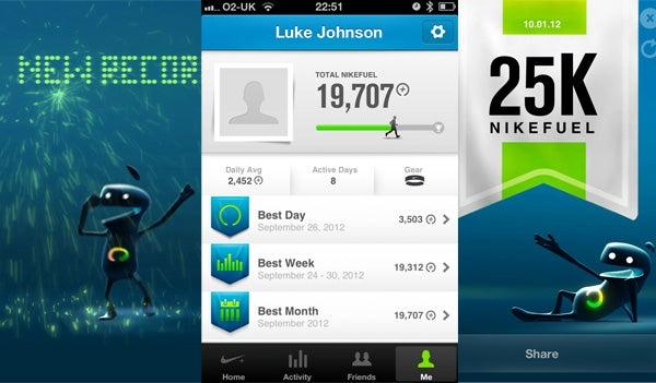 Nike FuelBand Achievements