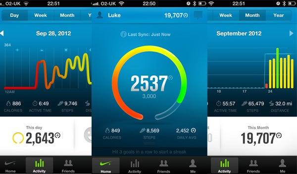 Nike FuelBand App